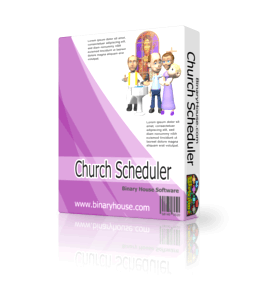 Church Scheduler 2.8