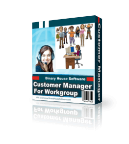 Customer Manager For Workgroup 3.9
