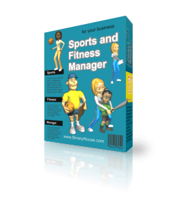 Sports and Fitness Manager 3.2